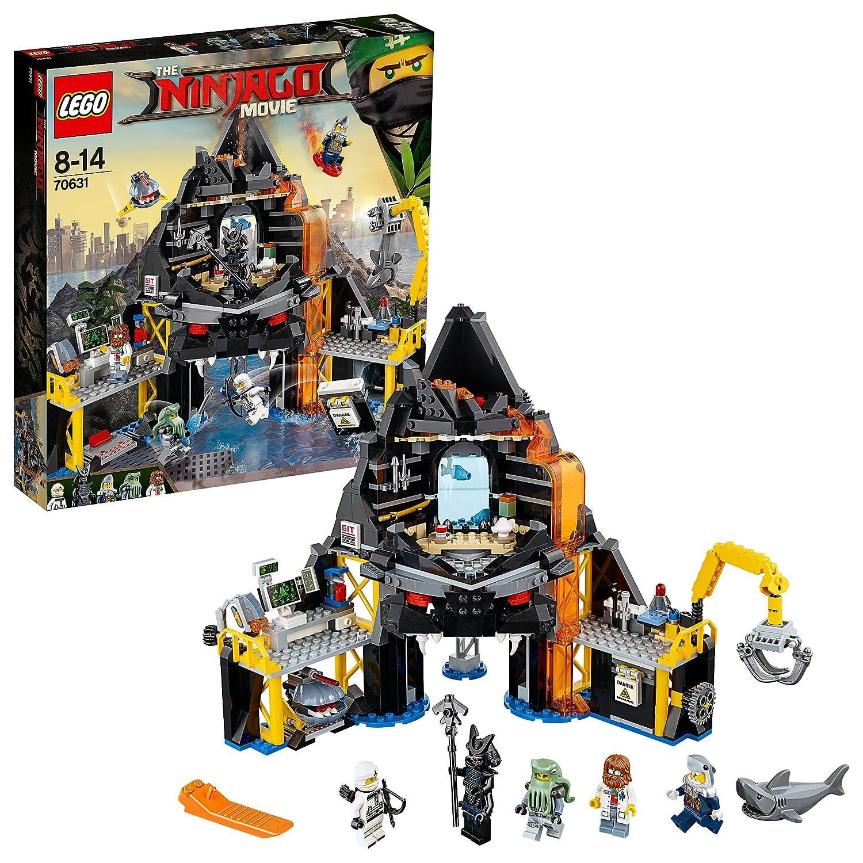 LEGO Ninjago - Guarida volcánica de Garmadon (70631): Amazon ...