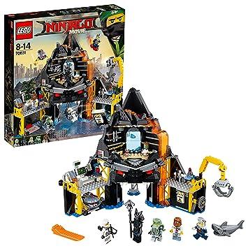 LEGO Ninjago - Guarida volcánica de Garmadon (70631)