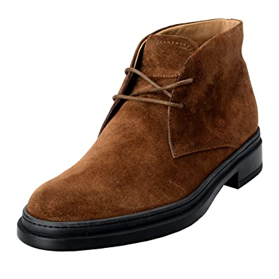 328180a8d3 Amazon.com | Tod's Men's Suede Brown Polacco Lace Up Ankle Boots Shoes US  6.5 IT 5.5 EU 39.5; | Chelsea