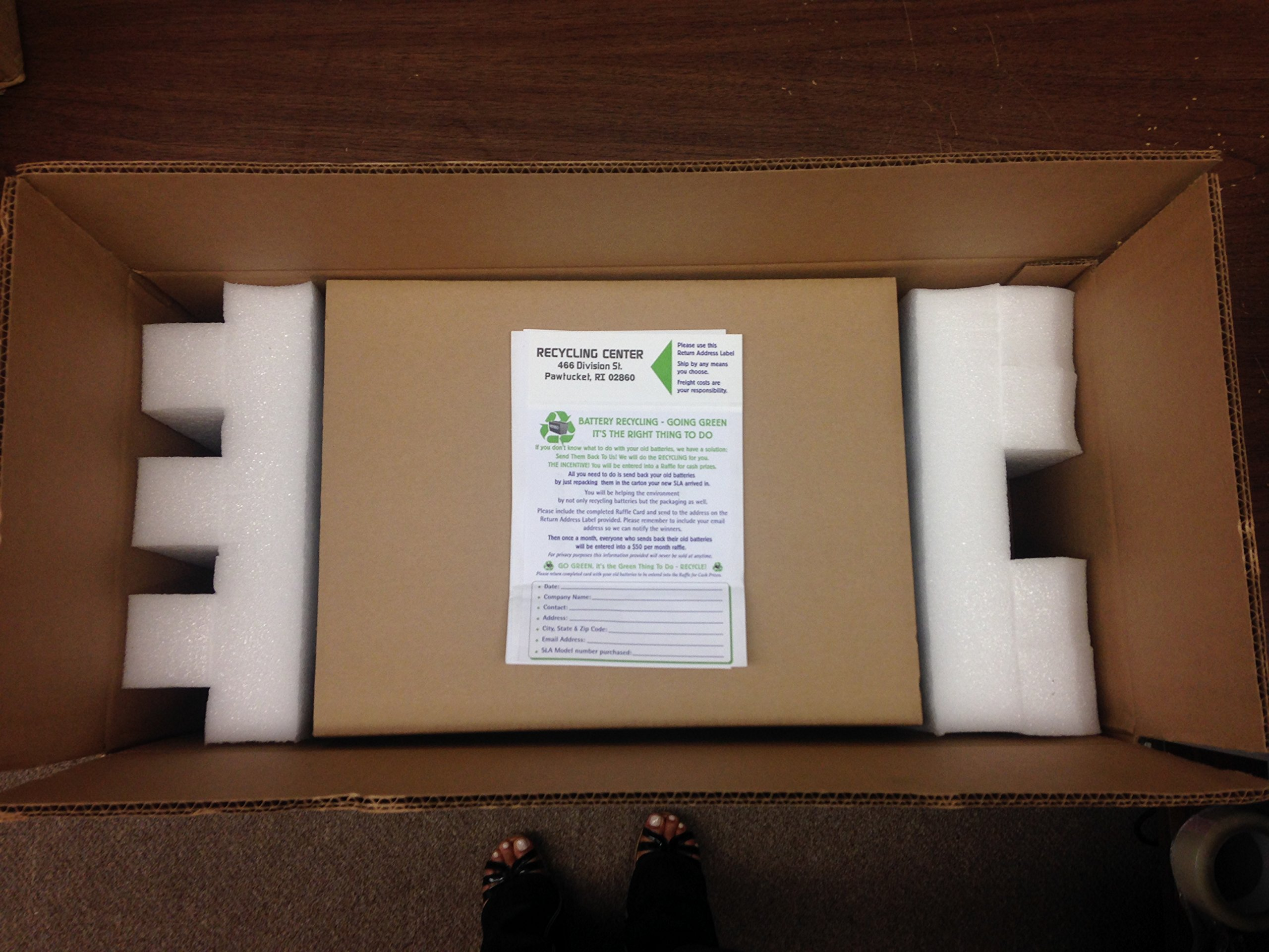 UPC RBC43 Replacement Battery Pack for UPS Models by UPC (Image #3)