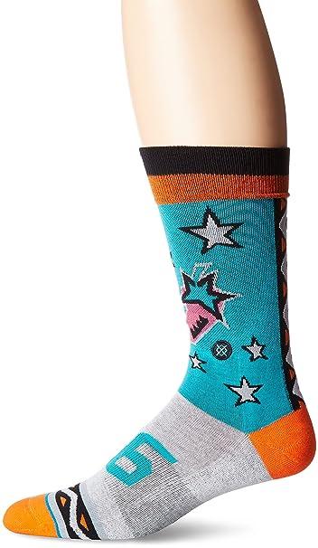 Postura hombres de 96 NBA All Star baloncesto gráfico de retroceso arco apoyo calcetines de -