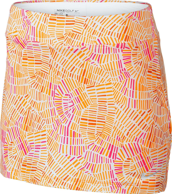 Nike Golfレディースbogalicious Print Skort X-Large White/Vivid Orange/Hyper Pink B000G4LE0A