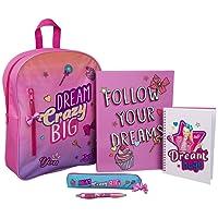 JoJo Siwa 'Dream Crazy Big' Filled Kids Backpack Set/Book Bag/School Bag