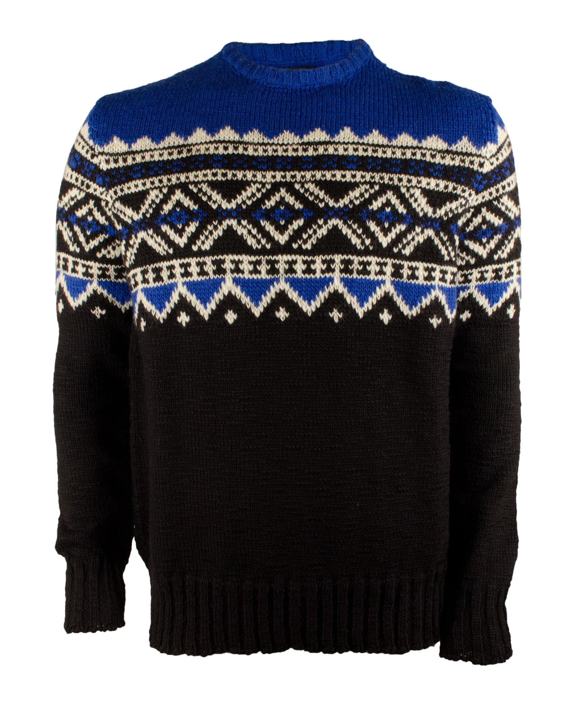 Polo Ralph Lauren Fair Isle Colorblock Mens Medium Sweater Blue M by Polo Ralph Lauren