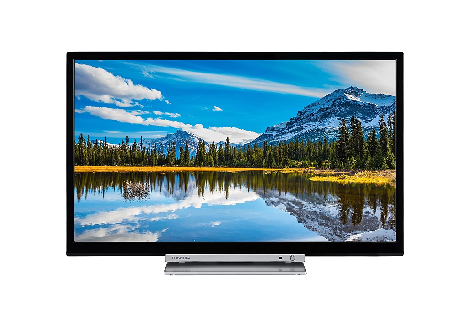 Toshiba 32D3863DB 32-Inch HD Ready Smart TV with Freeview Play and ...