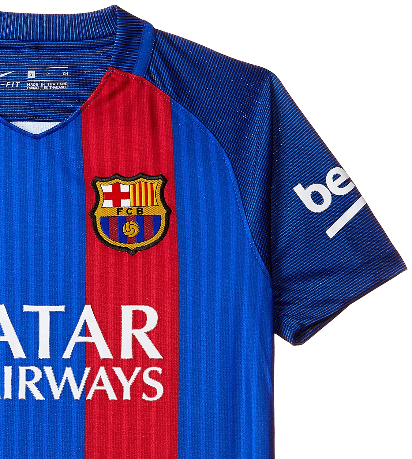 Nike Youth Soccer Barcelona Home Jersey
