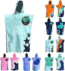 "TEAM MAGNUS Kids' Towel and Bathrobe – Stylish Bath Towel Design for Kids 4'-5'6"""