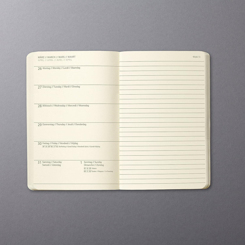 SIGEL C1924 Wochennotiz-Kalender 2019 Softcover Conceptum weitere Modelle A5 ca schwarz