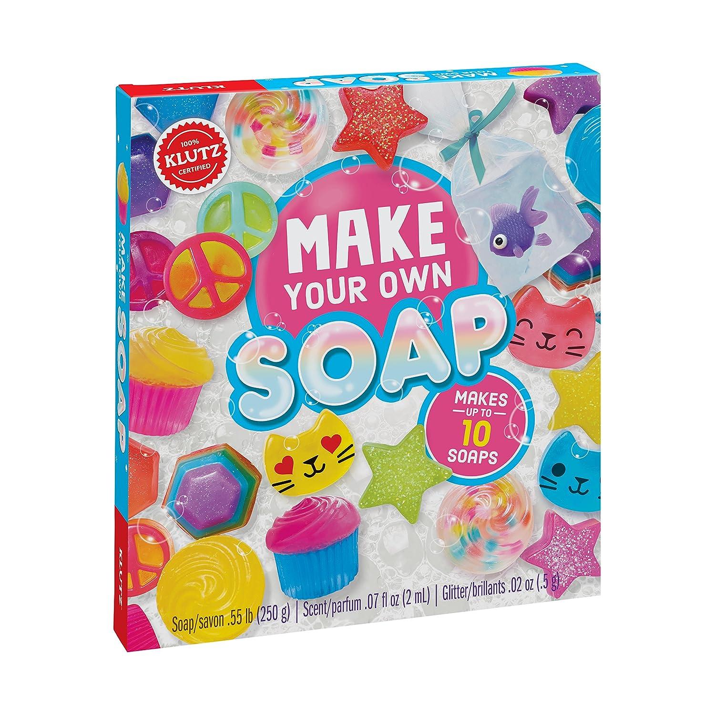 Klutz K810645 Make Your Own Melt & Pour Soap Kit B06XY2W6RC