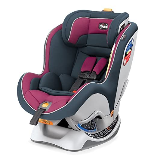 Chicco Nextfit Convertible Carseat, Purple