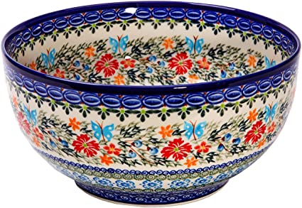 Amazon Polish Pottery Ceramika Boleslawiec Royal Blue Patterns Fascinating Polish Pottery Patterns