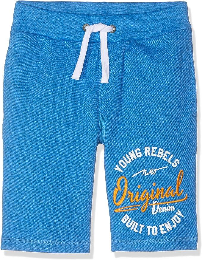 NAME IT Nkmhalte Sweat Long Shorts UNB Pantalones Cortos para Ni/ños