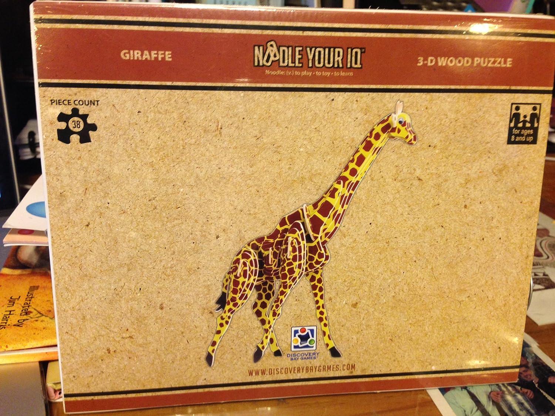ahorra 50% -75% de descuento Giraffe Giraffe Giraffe 3D Puzzle Colored by Discovery Bay Games by Discovery Bay Games  tienda de venta en línea