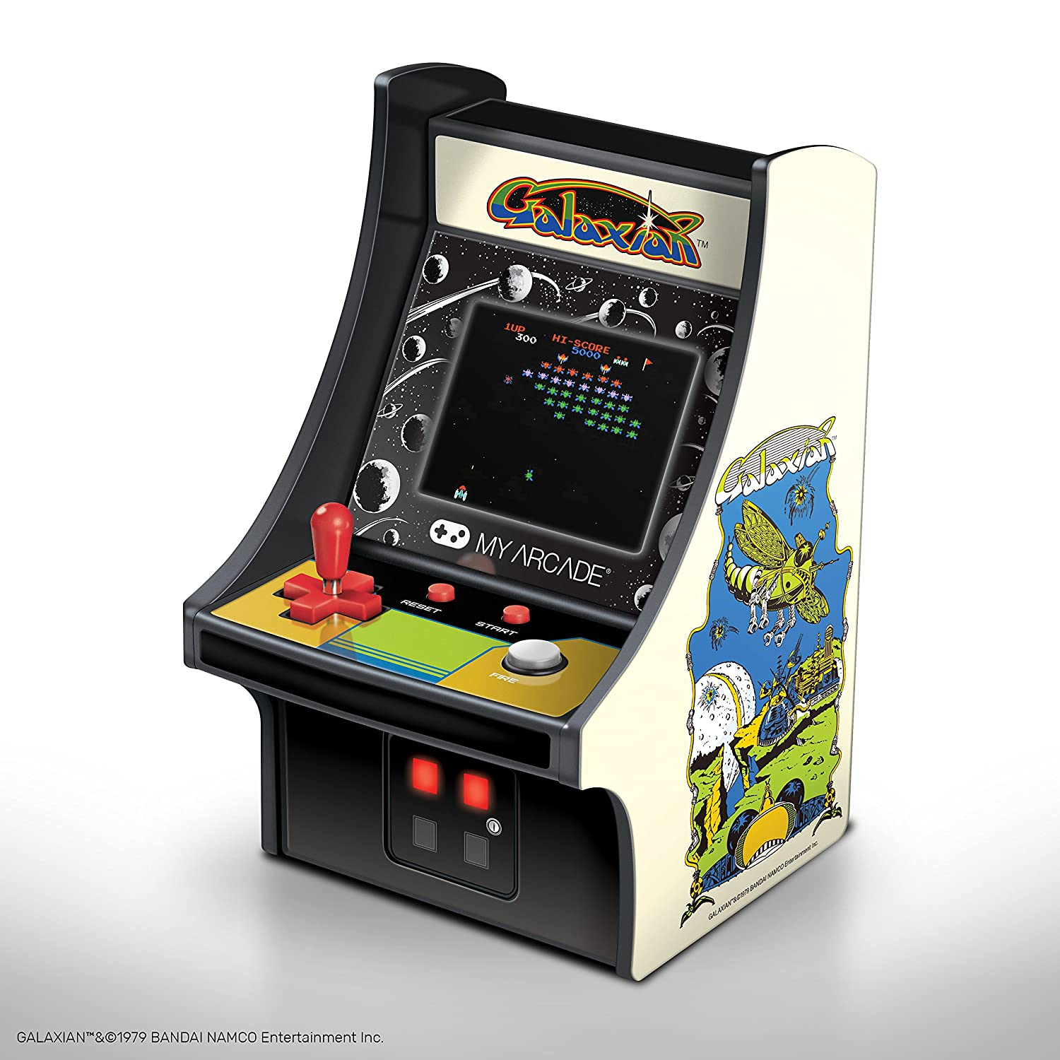 "My Arcade GALAXIAN Micro Player 6"" Collectable Arcade DGUNL-3223"