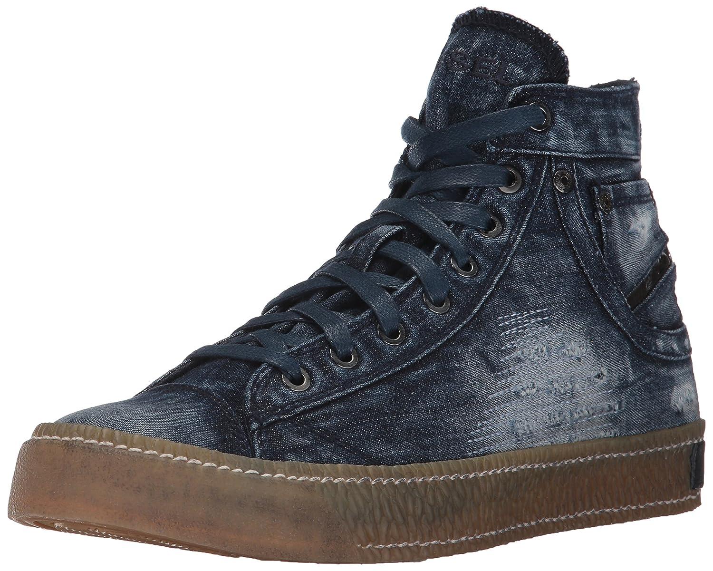 (ディーゼル) DIESELメンズ デニムハイカットスニーカー MAGNETE EXPOSURE I - sneaker mid B0713QTFY4 28.0 cm|インディゴブルー