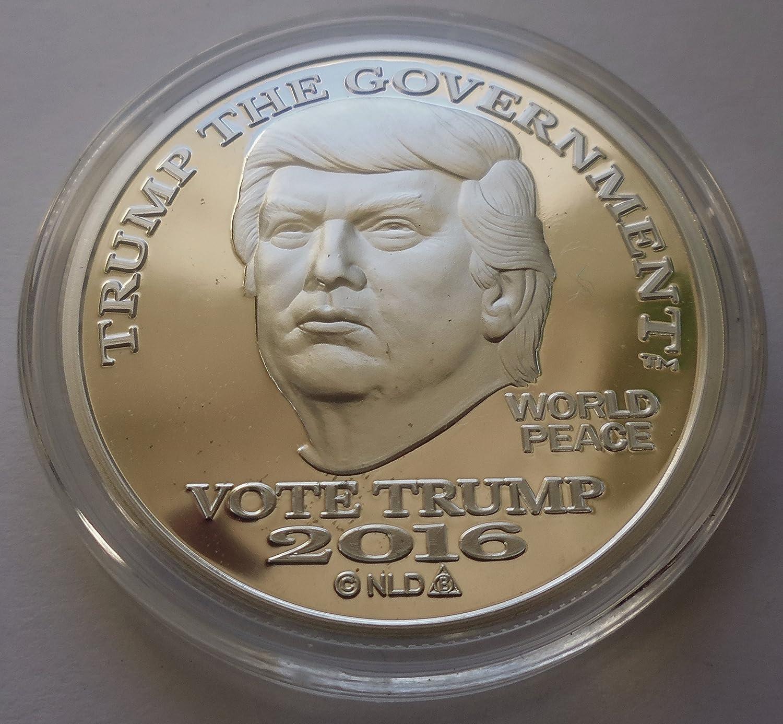 2016 DONALD TRUMP SILVER DOLLAR COIN $25 1 TROY OZ. 999 $25 Brilliant Uncirculated