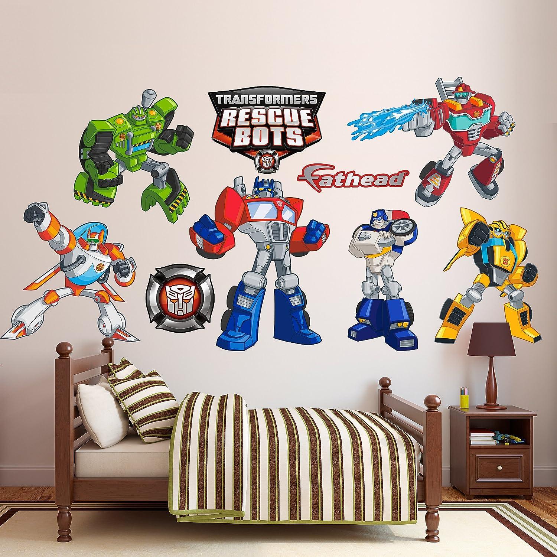 Amazon.com: Fathead Transformers Rescue Bots Collection Vinyl Decals: Home  U0026 Kitchen Part 44