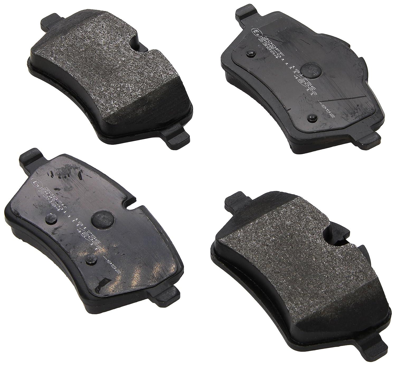 ACDelco 17D1204MH Professional Semi Metallic Front Disc Brake Pad Set