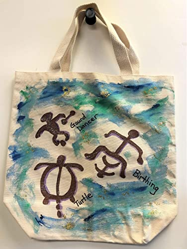 Hand painted Tote