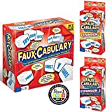 Faux-Cabulary The Wild Word Game - Complete Set (Includes both party games Expansion 1 and Expansion 2)