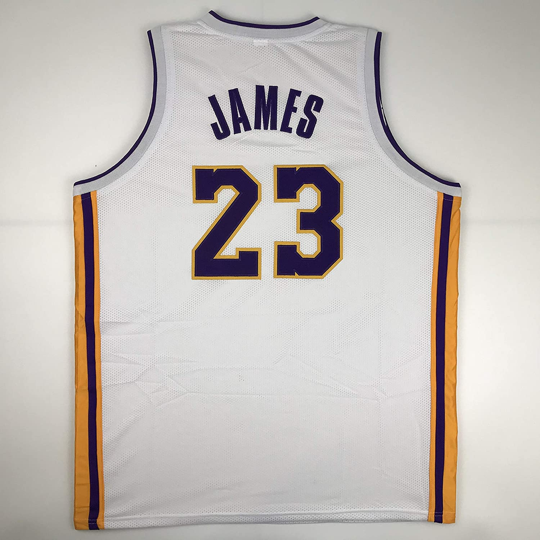 Unsigned LeBron James Los Angeles LA