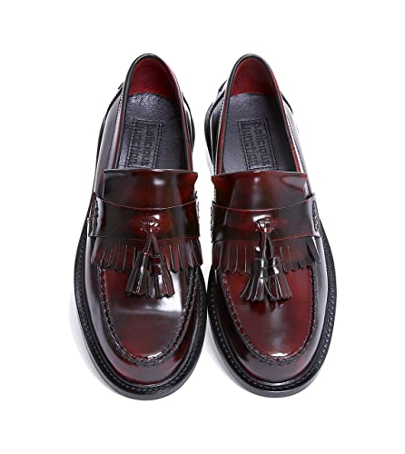 88a75a5dadcf4 Delicious Junction Oxblood Rude Boy Loafers Sizes 7-11 Available