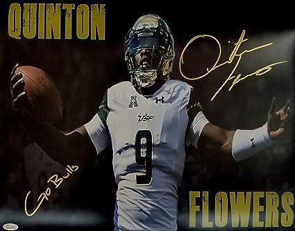 Quinton Flowers Signed Autographed 16x20 USF South Florida Bulls JSA 8c80d31f9