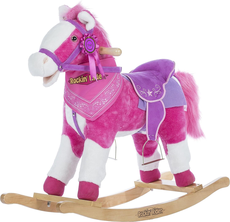 B00VVQ70W8 Rockin' Rider Laurel Rocking Horse Ride on 9132C4k5enL