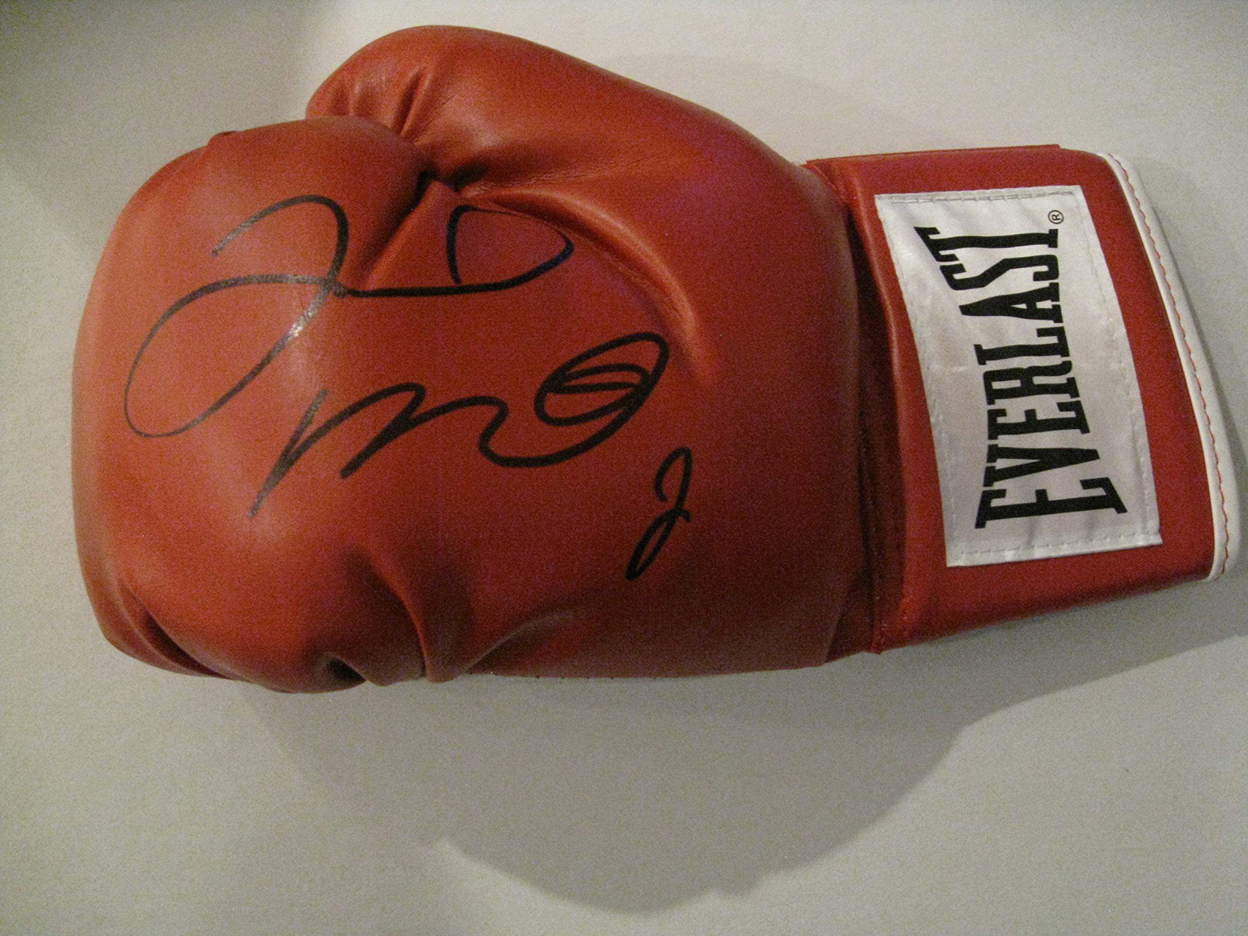 Floyd Mayweather autographed Signed Everlast regulation size boxing glove COA