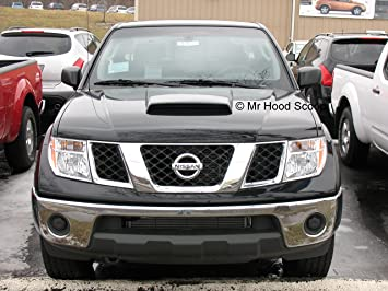 Xtreme Autosport Unpainted Hood Scoop Compatible with 2004-2020 Nissan Titan by MrHoodScoop HS002