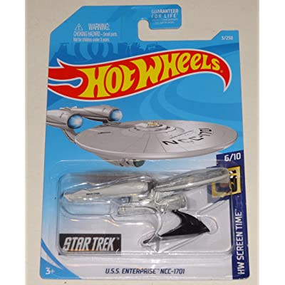 Hot Wheels U.S.S. Enterprise NCC 1701 Vehicle: Toys & Games