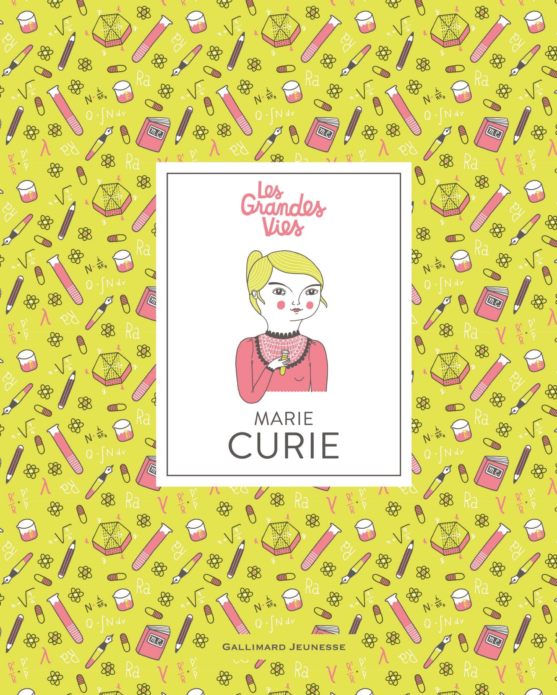 Marie Curie Relié – 30 août 2018 Isabel Thomas Anke Weckmann Emmanuel Plisson Gallimard Jeunesse