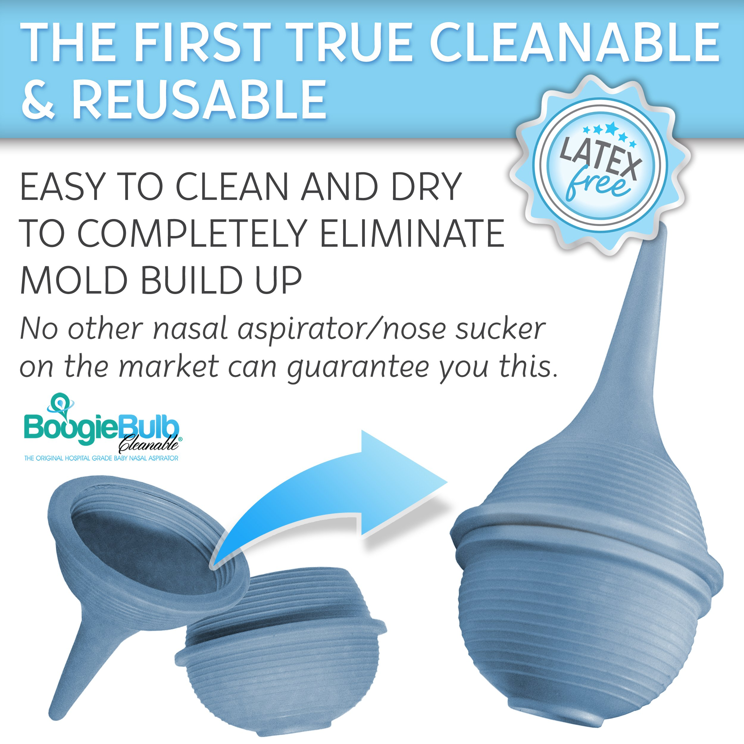 Amazon Com Boogiebulb Baby Nasal Aspirator And Booger