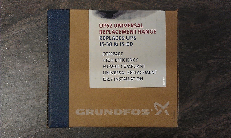Grndfos Ups2 15 50 60 Circulating Replacement Pump Grundfos Wiring Instructions Diy Tools