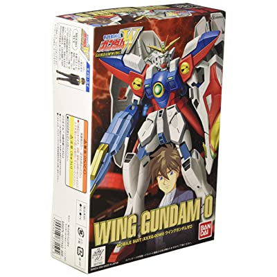 Bandai Hobby WF-09 Wing Gundam 0 1/144 W-Series Action Figure: Toys & Games