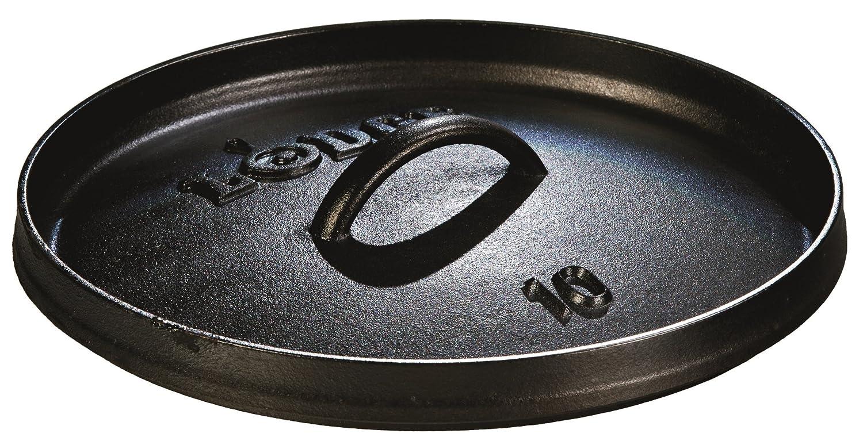 4 quart Pre-Seasoned Cast Iron Outdoor//Camp Dutch Oven 3.79 litre Lodge 25.4 cm
