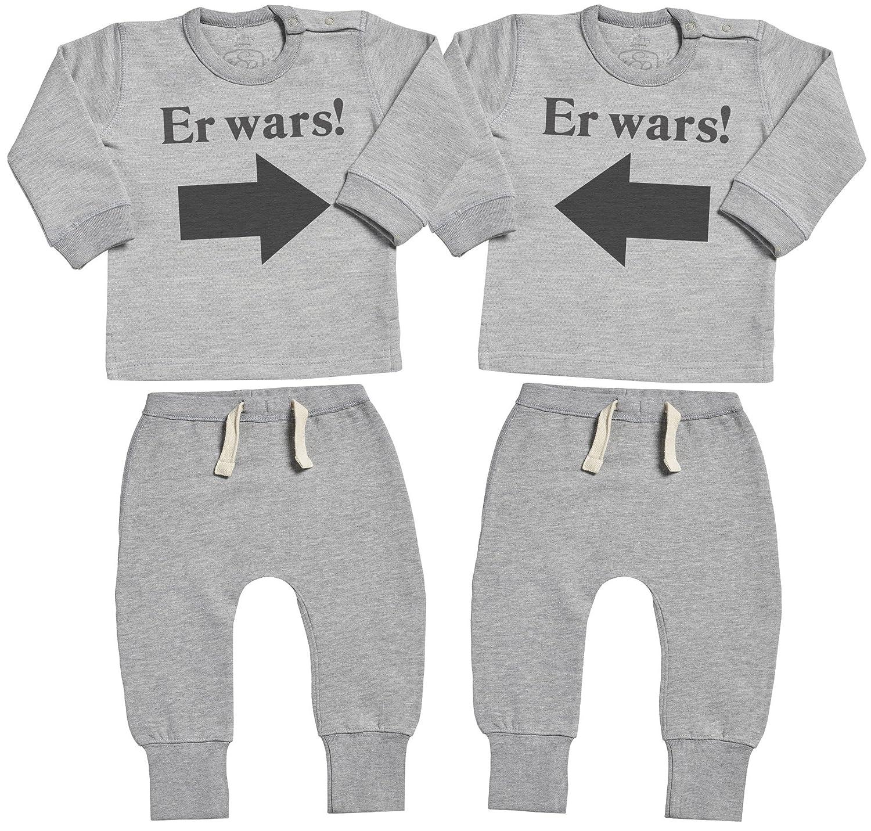 SR Er Wars Er Wars Baby Zwillinge Geschenkset Baby Zwillinge Sweater /& Baby Zwillinge Jogginghosen Bekleidungssets Baby Zwillinge Outfit