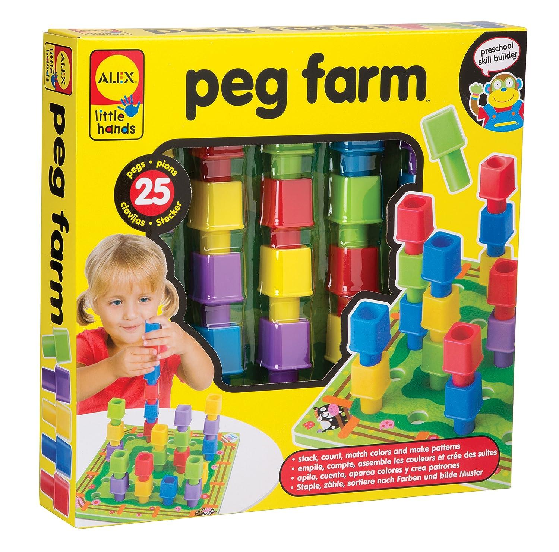 Amazon Alex Peg Farm Toys & Games