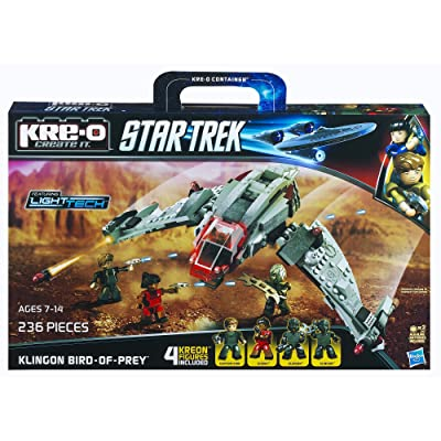 KRE-O Star Trek Klingon Bird-of-Prey Construction Set (A3136): Toys & Games