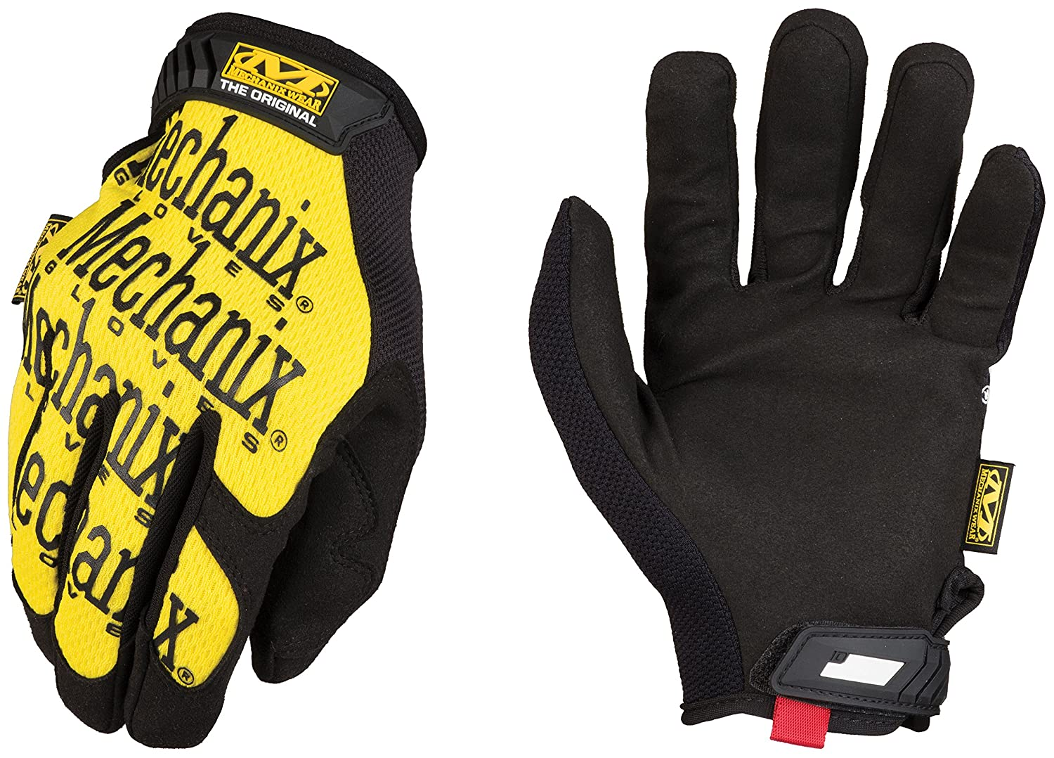 Mechanix Wear - Guantes Originales (X-Grande, Amarillo)