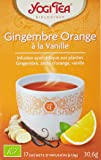 Yogi Tea Thé Bio Gingembre Orange à la Vanille 17 sachets
