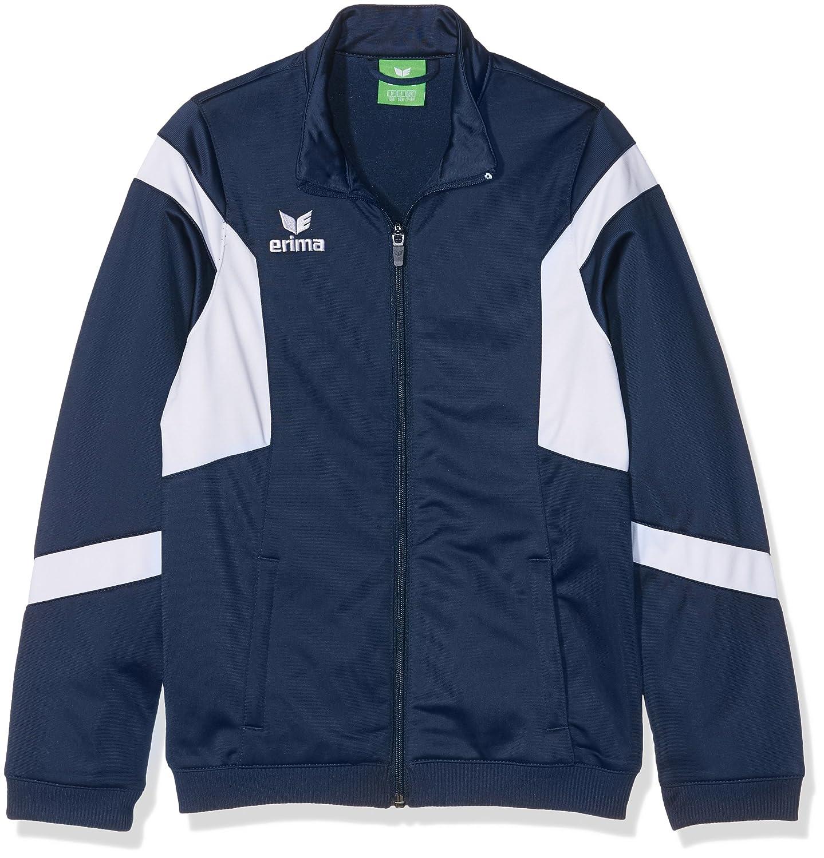 Jacken Erima Classic Team Polyesterjacke Kids Blau Weiss Bekleidung