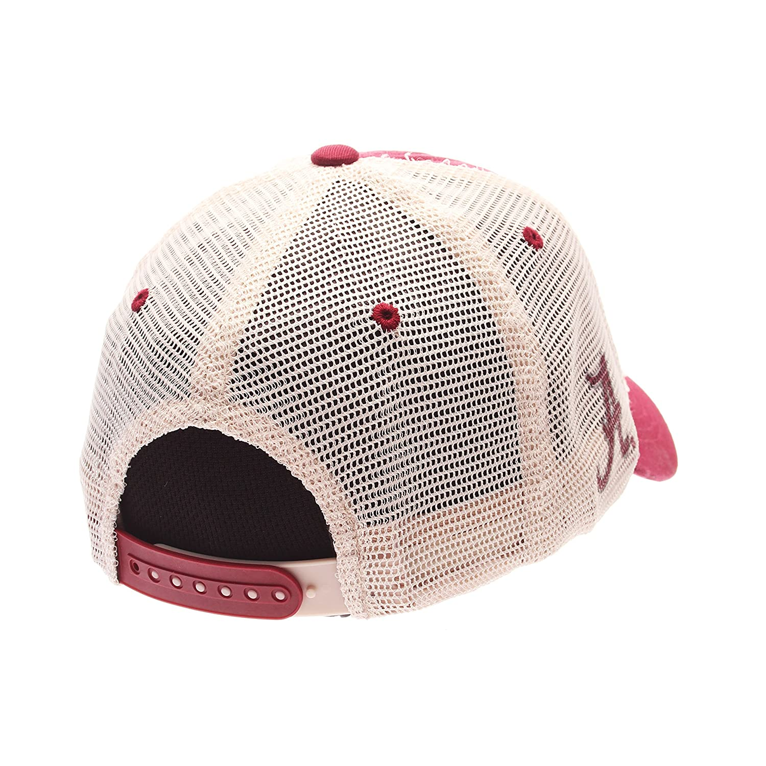300dd3b9 Amazon.com : Zephyr NCAA Alabama Crimson Tide Adult Men RoadTrip Relaxed Cap,  Adjustable, Cardinal : Sports & Outdoors