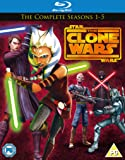 Star Wars Clone Wars - Season 1-5 [Blu-ray] [Region Free]