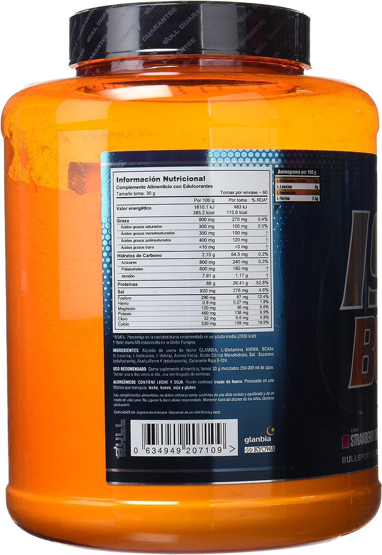 Bull Sport Nutrition Iso CFM Suplemento - 1800 gr: Amazon.es ...