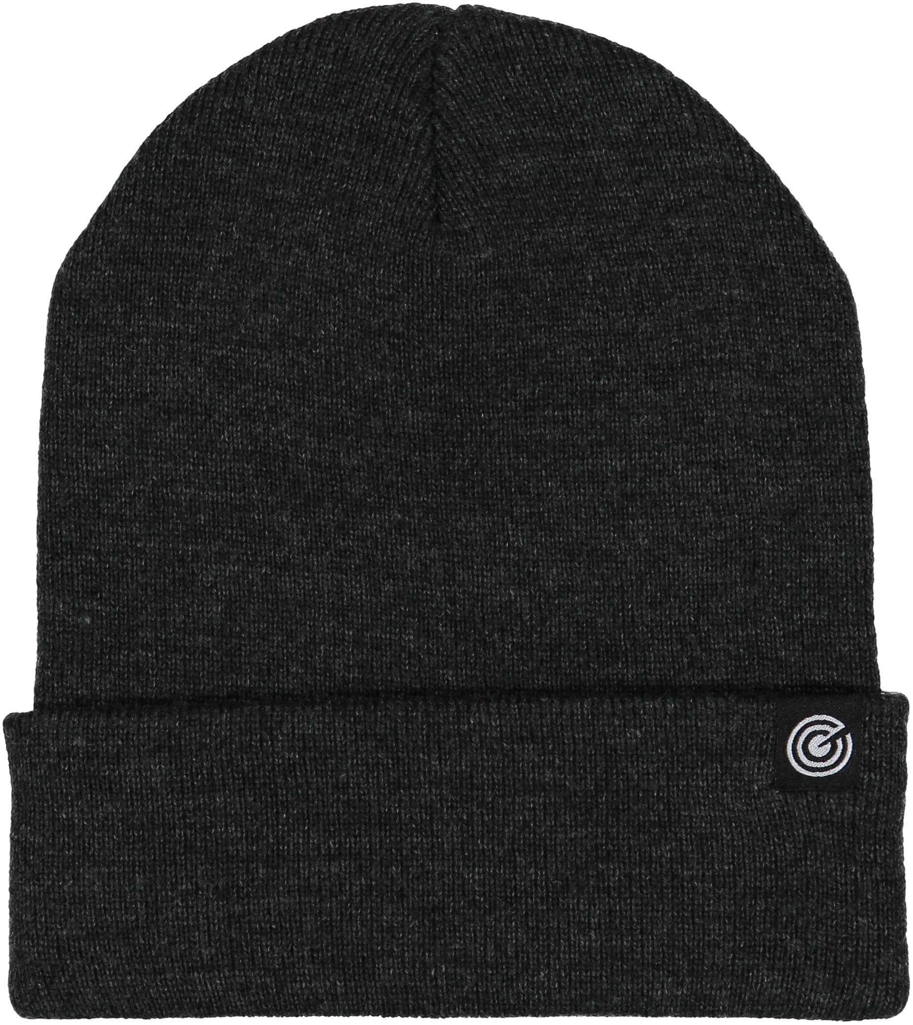 Cuffed Beanie - Warm Daily Beanie Hat with Foldover Cuff - Stylish Winter Colors,Charcoal Grey,One Size
