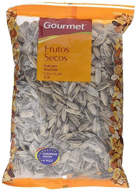 Gourmet - Frutos secos - Pipas de girasol tostadas con sal - 200 g: Amazon.es: Alimentación y bebidas