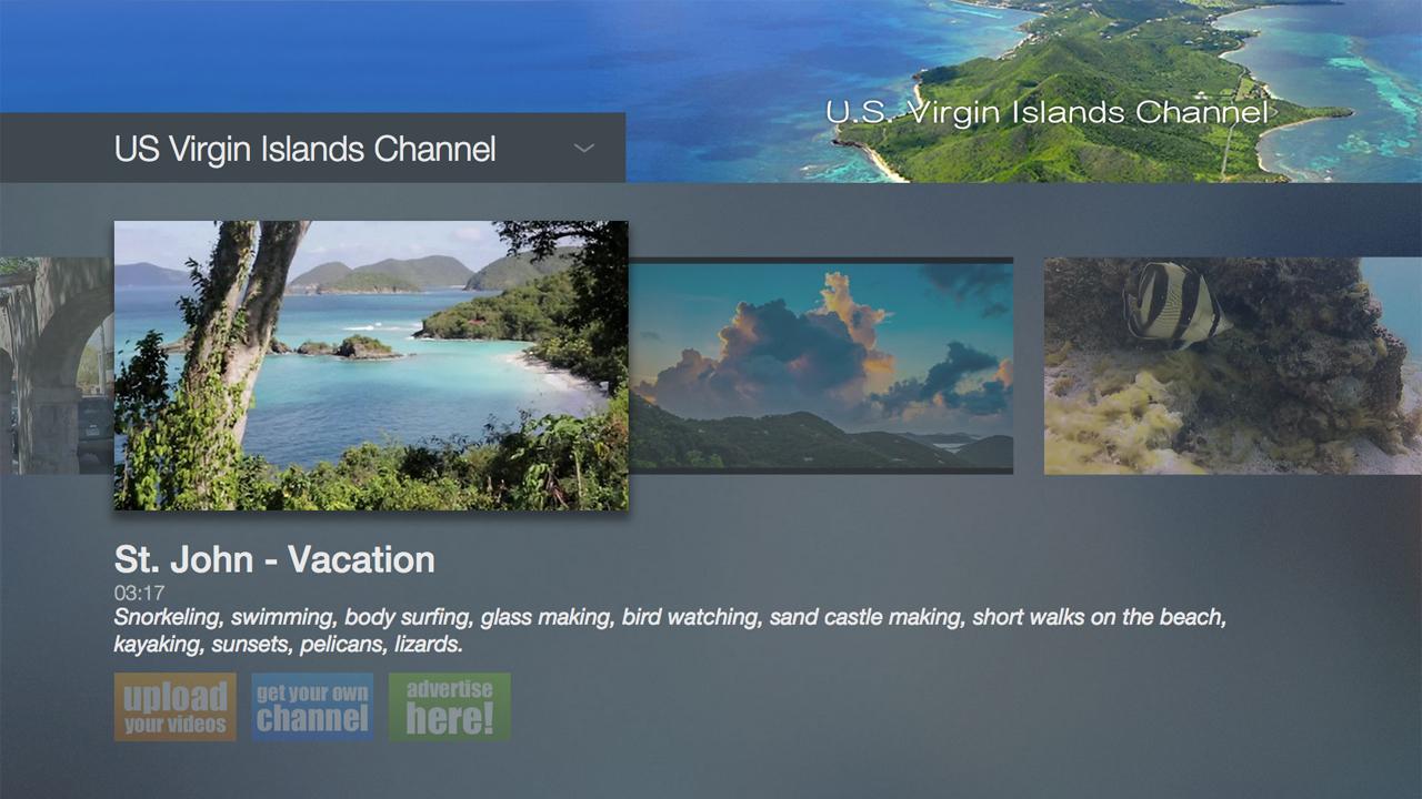 US Virgin Islands Channel - 9132oxZXJyL