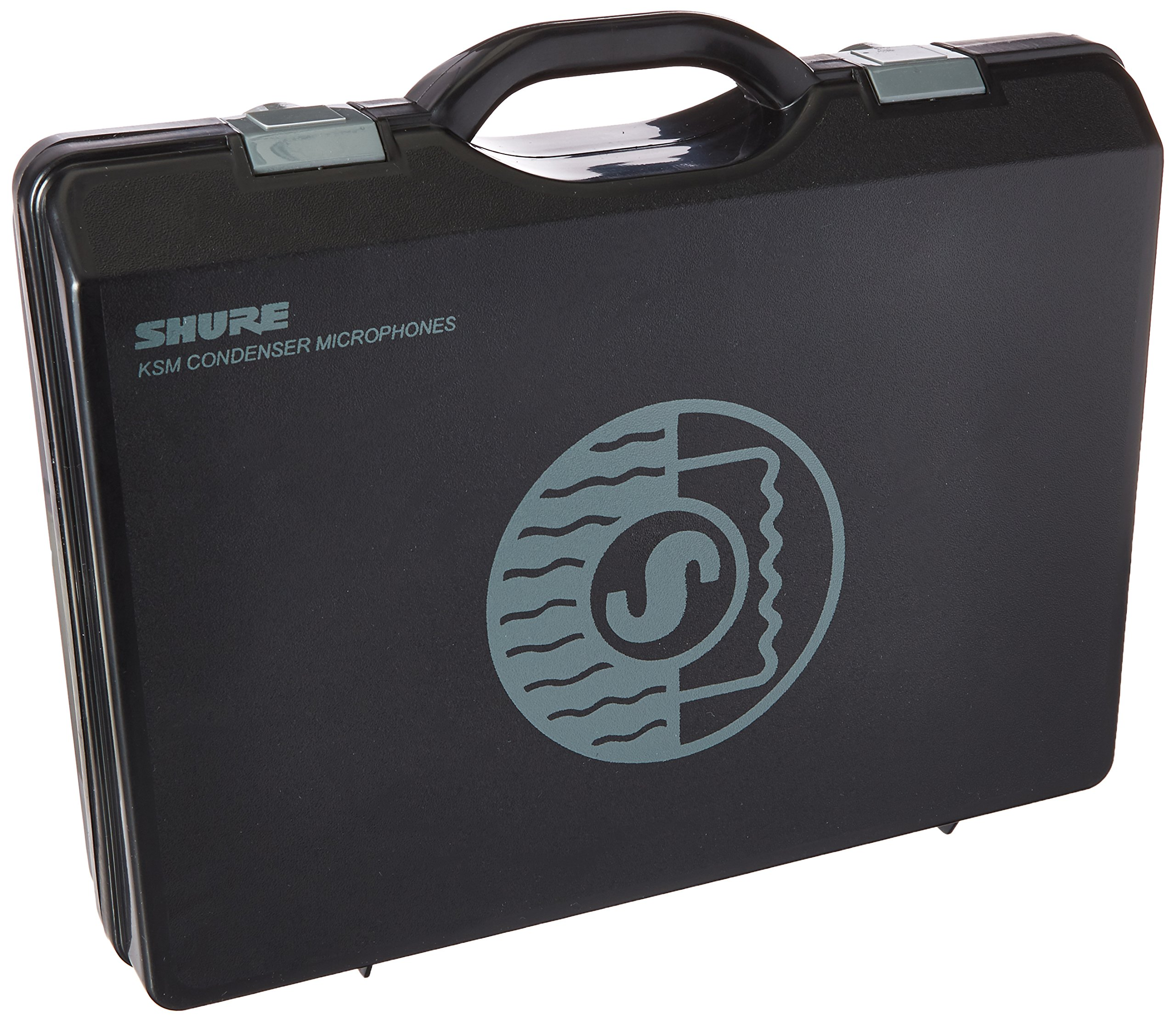 Shure A100C Carrying Case for Two KSM 137 or KSM141 Microphones and A27M Stereo Bar