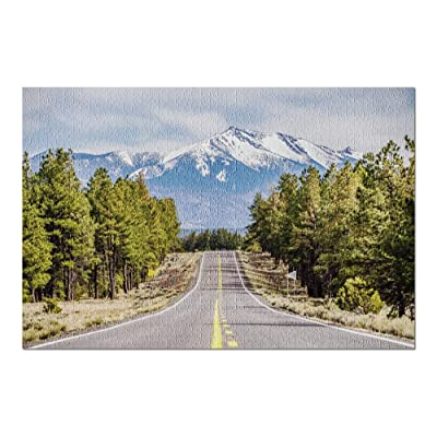 Landscape with Humphreys Peak, Tallest in Arizona 9006802 (Premium 1000 Piece Jigsaw Puzzle for Adults, 20x30, Made in USA!): Toys & Games